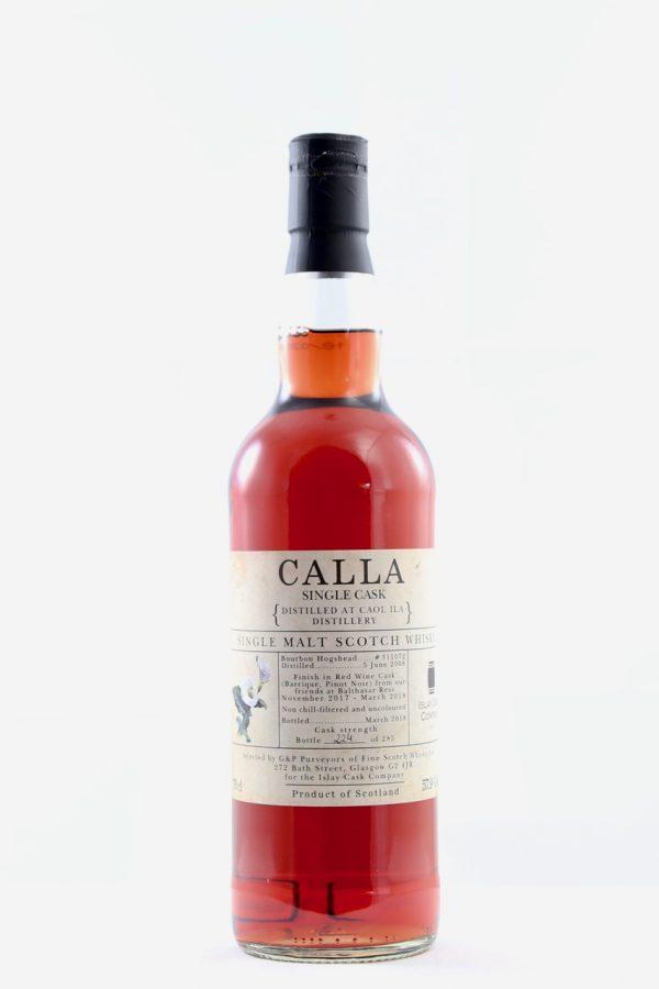 Caol Ila Calla Pinot Noir Finish