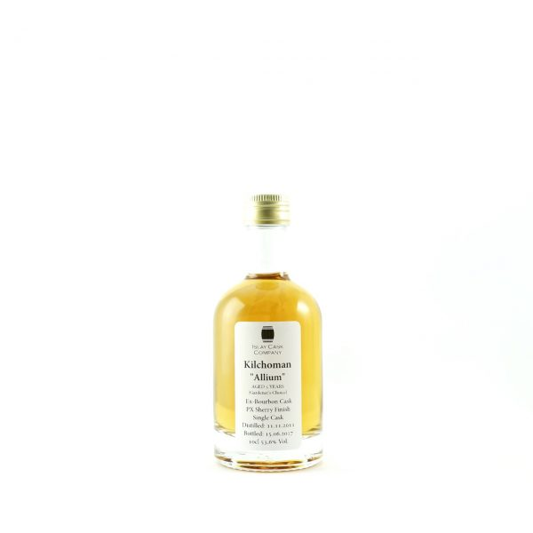 Kilchoman Allium PX Sherry Single Cask 10cl Sample
