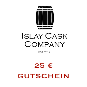 25 € Gutschein auf unsere Islay Single Cask Whiskys