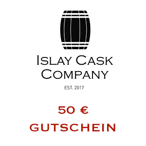 50 € Gutschein auf exklusive Islay Single Cask Whiskys