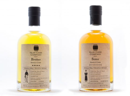 Caol Ila Single Cask Brother and Sister - Islay Cask Company