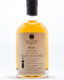 Caol Ila Single Cask Islay Cask Company Sister
